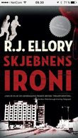 """""""Skjebnens ironi"""" av R.J. Ellory"""
