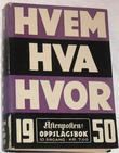 """""""Hvem hva hvor 1950 - Aftenpostens oppslagsbok"""" av Aftenposten"""