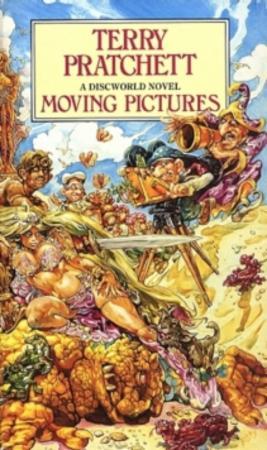 """""""Moving pictures"""" av Terry Pratchett"""