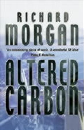 """""""Altered carbon"""" av Richard K. Morgan"""