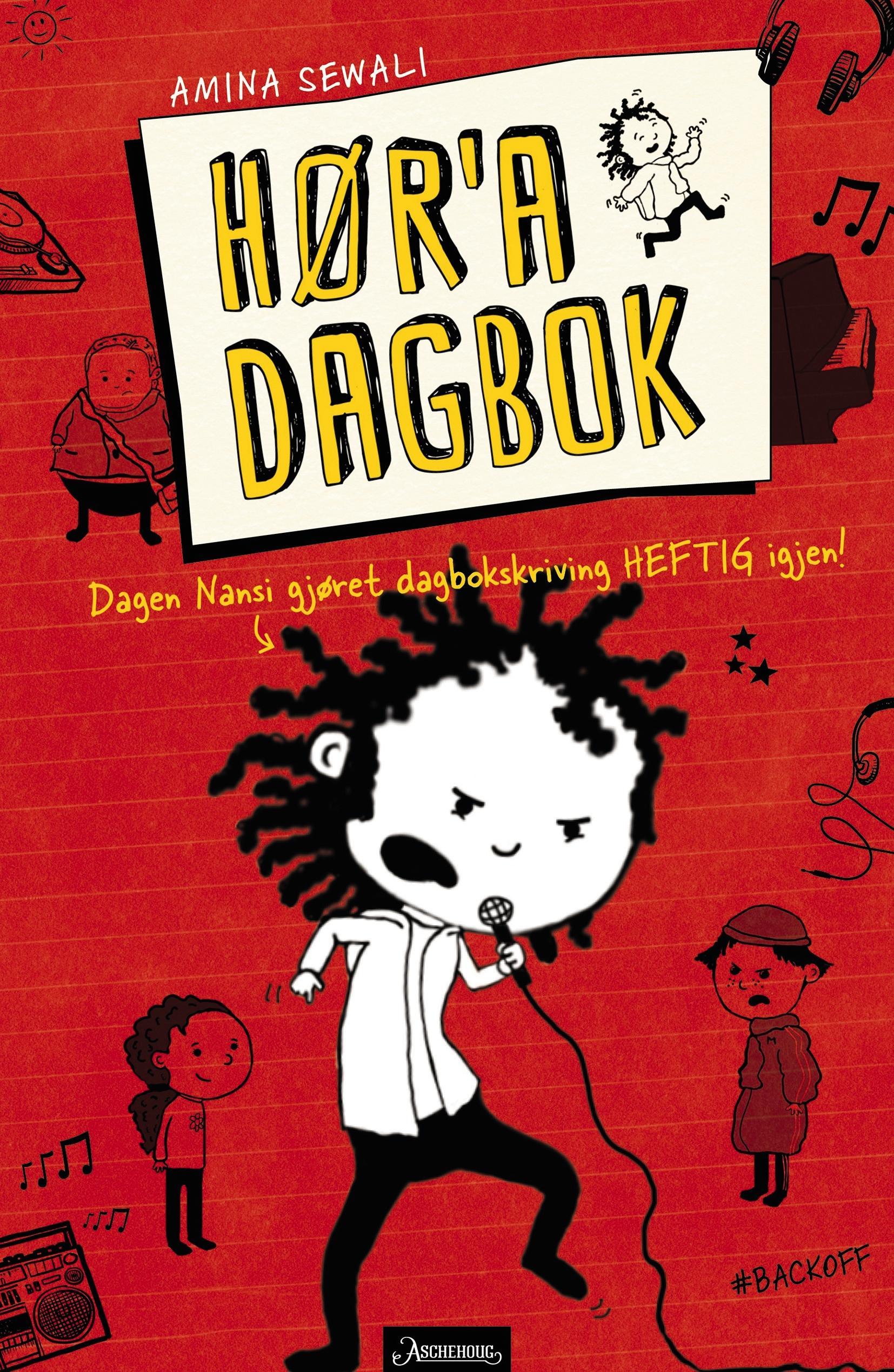 """""""Hør'a dagbok! - dagen Nansi gjøret dagbokskriving heftig igjen!"""" av Amina Sewali"""