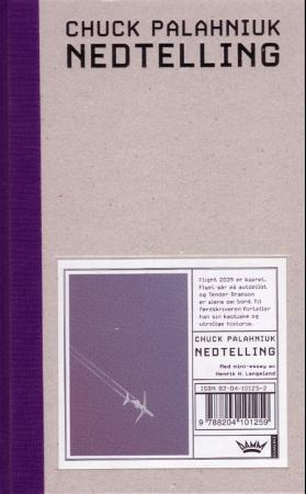 """Nedtelling - roman"" av Chuck Palahniuk"