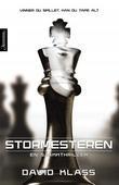 """""""Stormesteren - en sjakkthriller"""" av David Klass"""