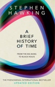 """A brief history of time from the big bang to black holes"" av Stephen Hawking"
