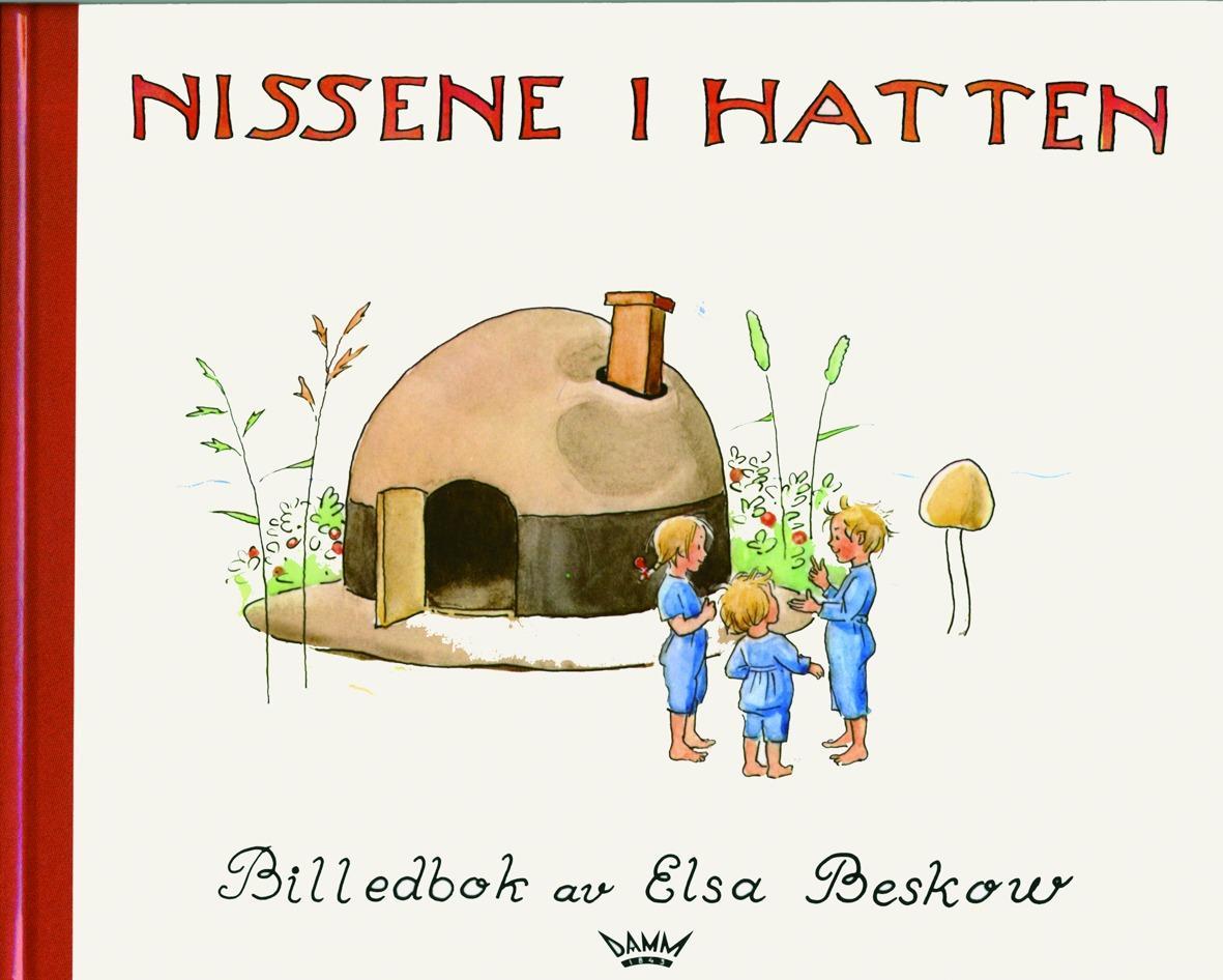 """""""Nissene i hatten - en billedbok der barna selv kan finne på rim"""" av Elsa Beskow"""