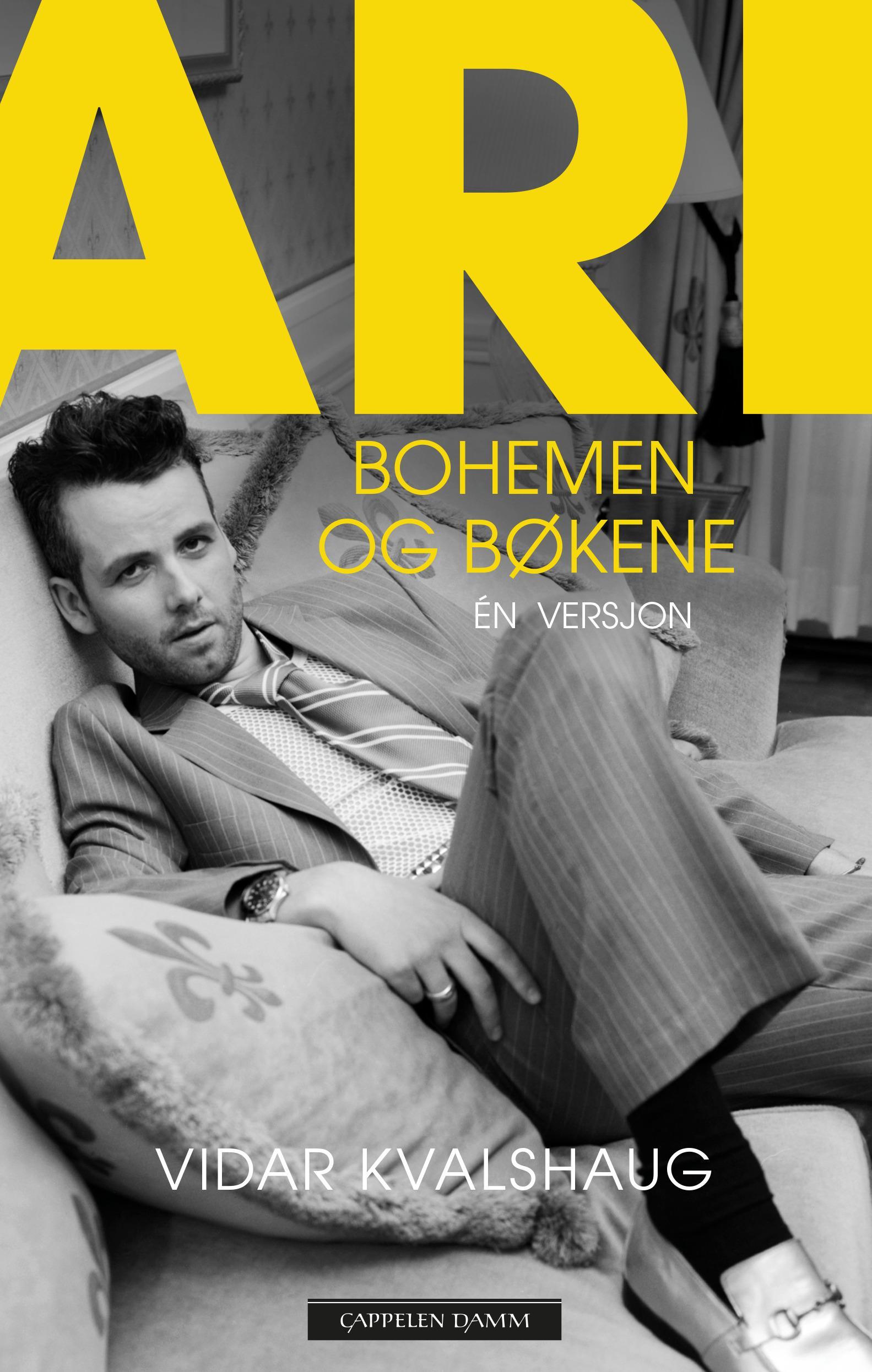 """""""Ari - bohemen og bøkene"""" av Vidar Kvalshaug"""