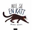 """""""Alle så en katt"""" av Brendan Wenzel"""