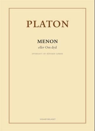 """""""Menon - eller Om dyd"""" av Platon"""