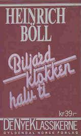 """""""Biljard klokken halv ti"""" av Heinrich Böll"""