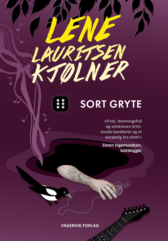 """""""Sort gryte - Olivia 7"""" av Lene Lauritsen Kjølner"""