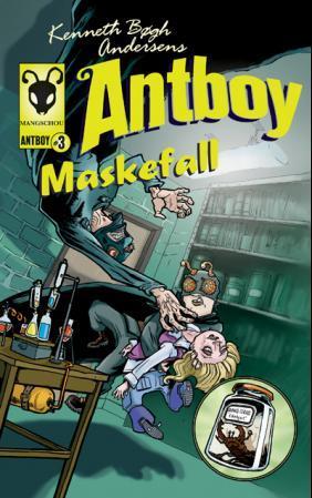 """Kenneth Bøgh Andersens Antboy - maskefall"" av Kenneth Bøgh Andersen"