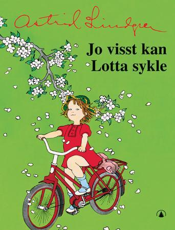 """""""Jo visst kan Lotta sykle"""" av Astrid Lindgren"""