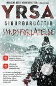 """""""Syndsforlatelse - kriminalroman"""" av Yrsa Sigurðardóttir"""