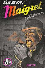 """""""Maigret i tåkehavnen ; Maigret og mannen med hareskåret ; Maigret blir rasende"""" av Georges Simenon"""