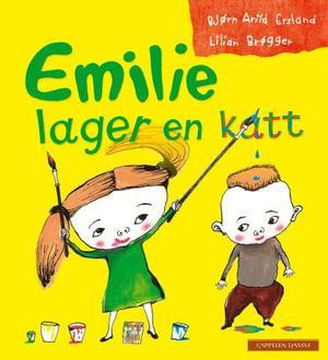 """""""Emilie lager en katt"""" av Bjørn Arild Ersland"""