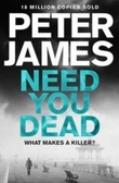 """""""Need you dead"""" av Peter James"""