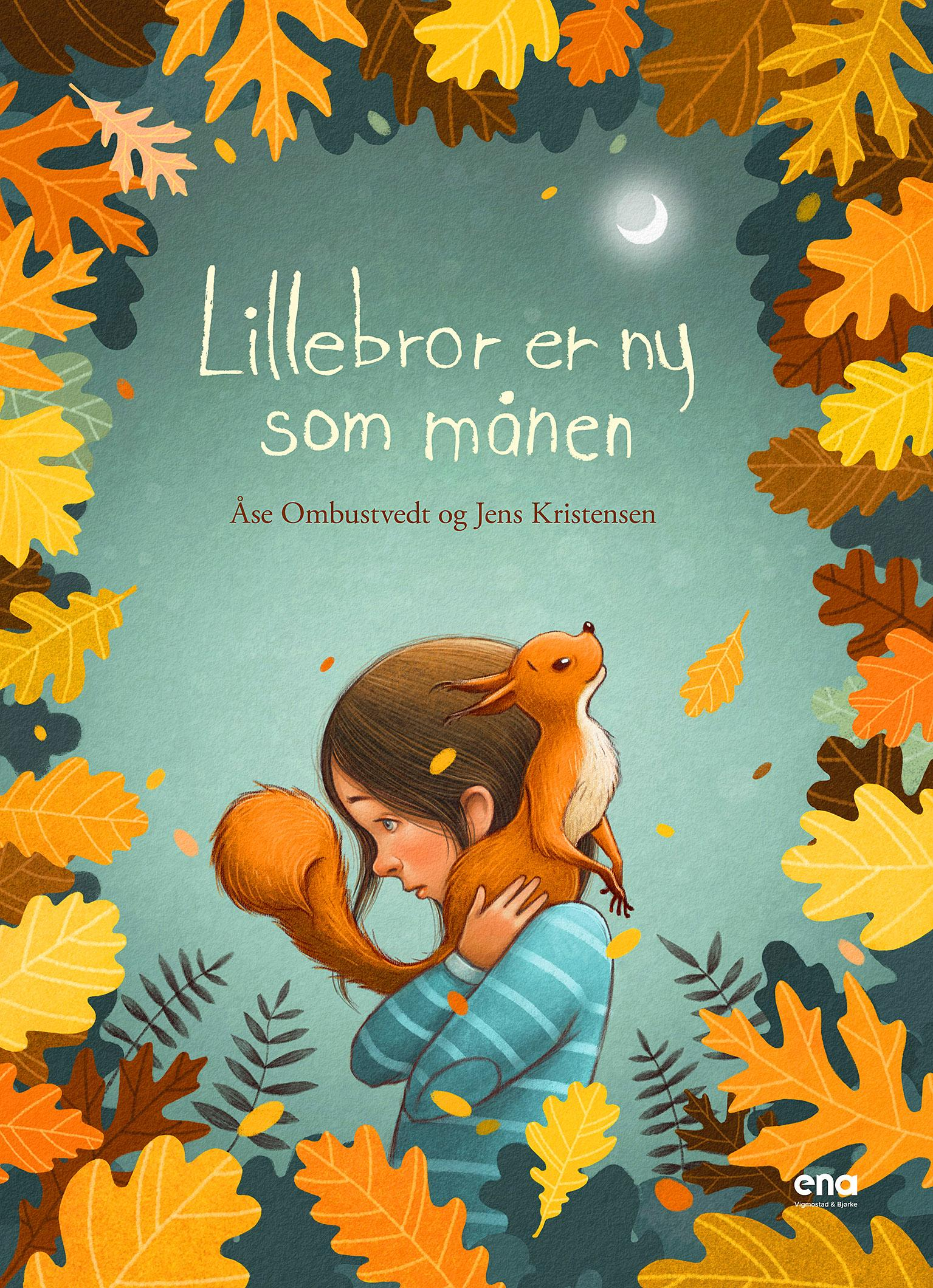 """""""Lillebror er ny som månen"""" av Åse Ombustvedt"""