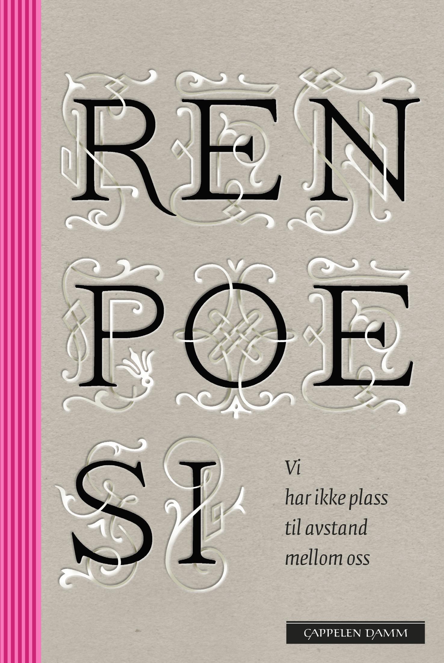 """""""Ren poesi"""" av Ellen Wisløff"""