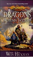 """Dragons of autumn twilight - Dragonlance chronicles volume I"" av Margaret Weis"