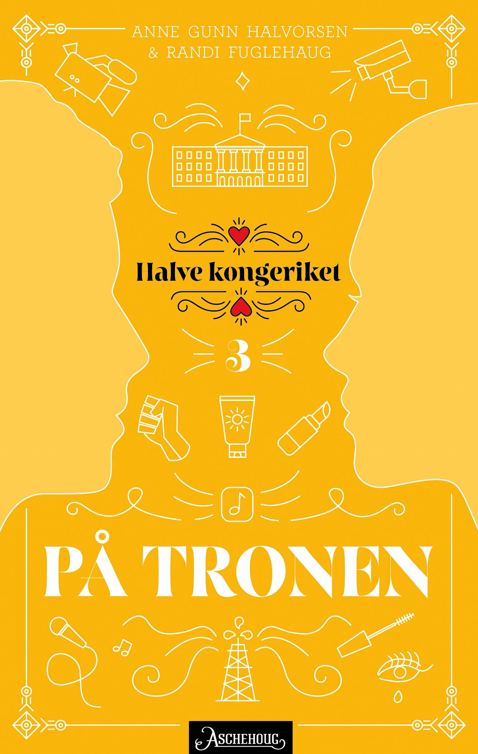 """""""På tronen"""" av Anne Gunn Halvorsen"""
