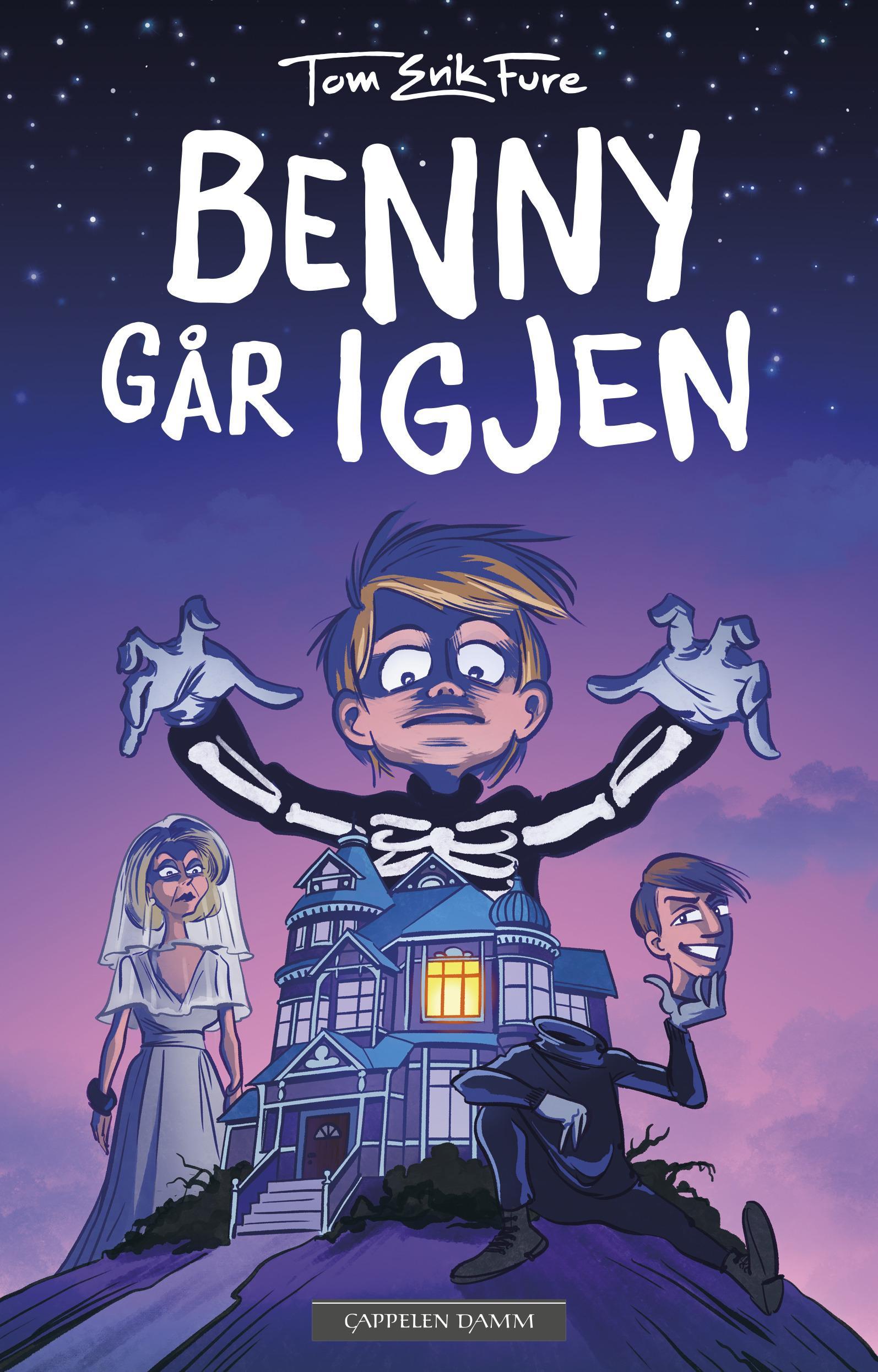 """""""Benny går igjen"""" av Tom-Erik Fure"""