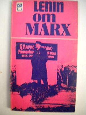 """""""Lenin om Marx"""" av Vladimir Iljitsj Lenin"""