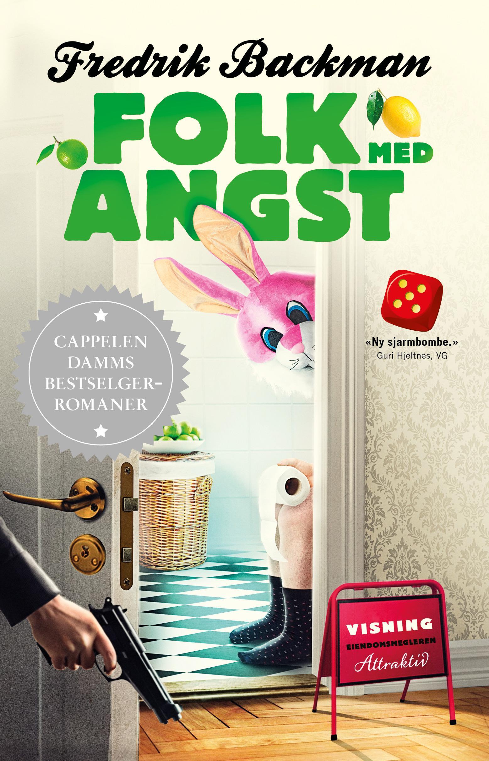"""""""Folk med angst"""" av Fredrik Backman"""