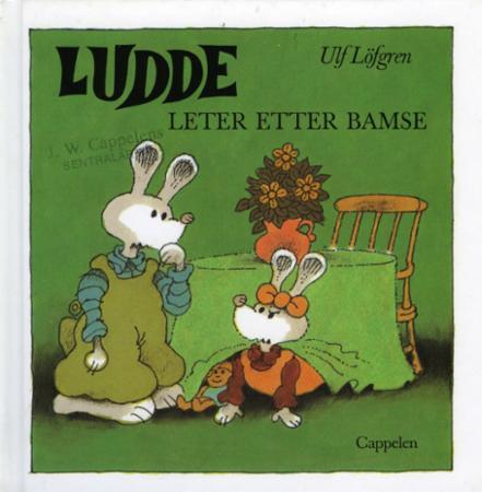 """""""Ludde leter etter Bamse"""" av Ulf Löfgren"""