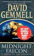 """""""Midnight falcon a novel of the Rigante"""" av David A. Gemmell"""