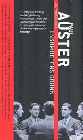 """""""Ensomhetens grunn"""" av Paul Auster"""