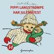 """""""Pippi Langstrømpe har juletrefest"""" av Astrid Lindgren"""