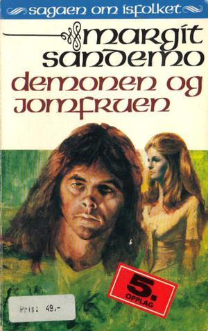 """""""Demonen og jomfruen"""" av Margit Sandemo"""