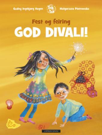 """""""God divali!"""" av Gudny Ingebjørg Hagen"""