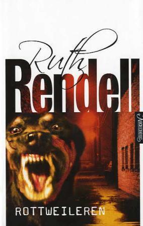 """""""Rottweileren"""" av Ruth Rendell"""