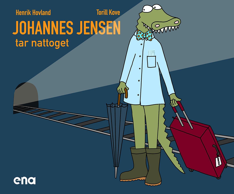 """""""Johannes Jensen tar nattoget"""" av Henrik Hovland"""