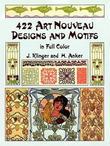 """422 Art Nouveau Designs and Motiffs (Dover Pictorial Archives)"" av Klinger"