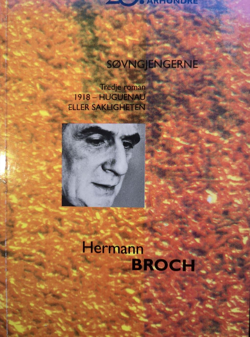 """""""Søvngjengerne. Tredje roman - 1918"""" av Hermann Broch"""