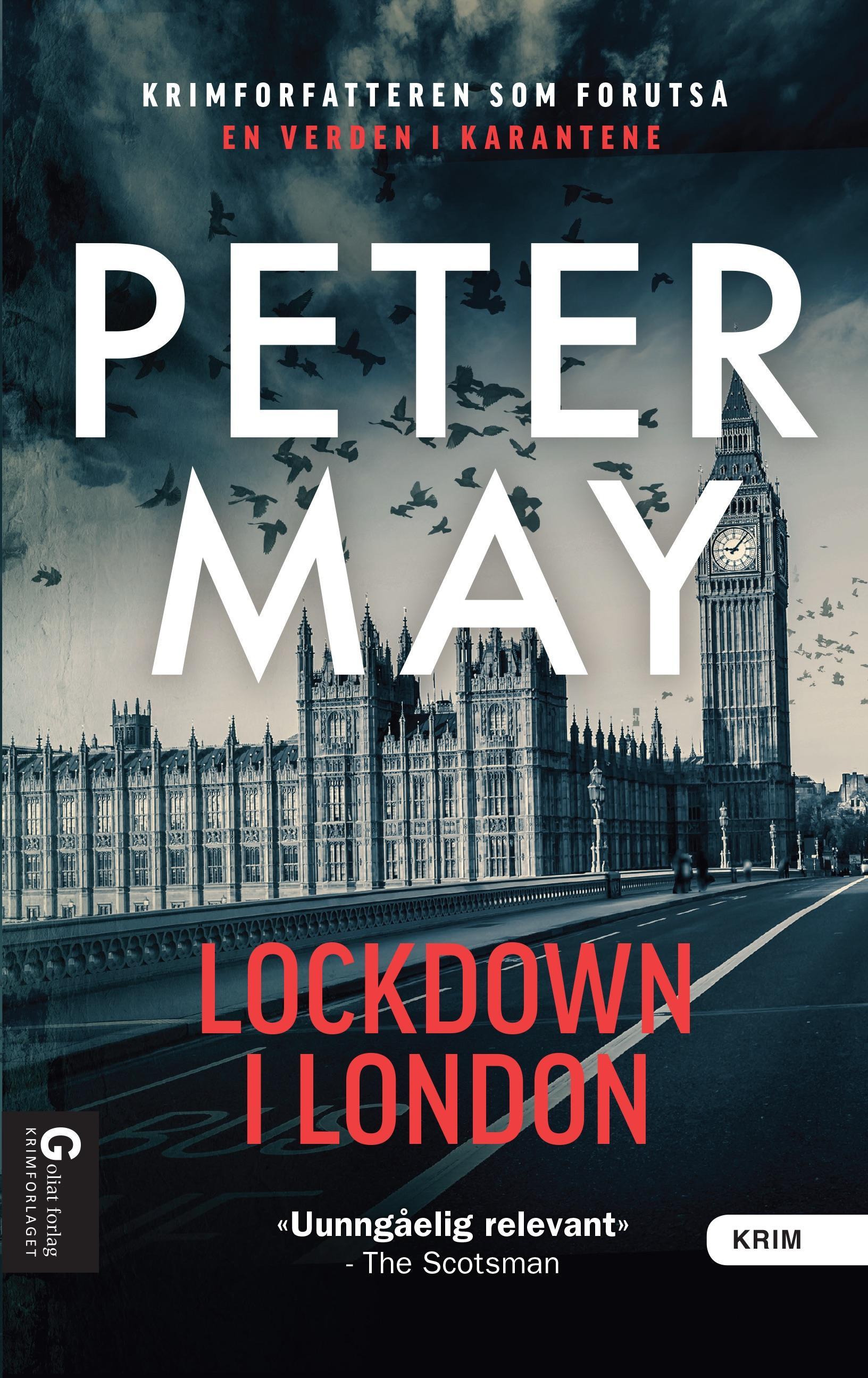 """""""Lockdown i London"""" av Peter May"""