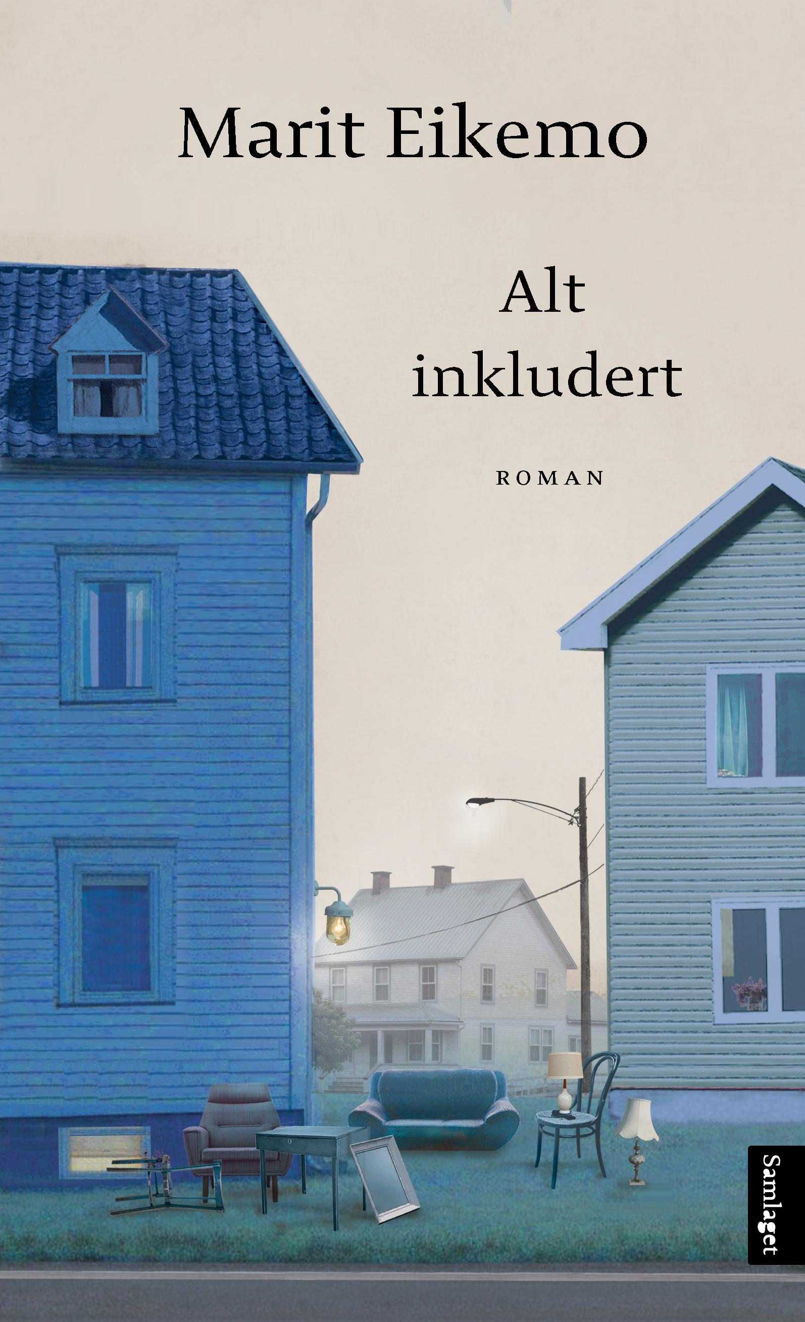 """""""Alt inkludert - roman"""" av Marit Eikemo"""