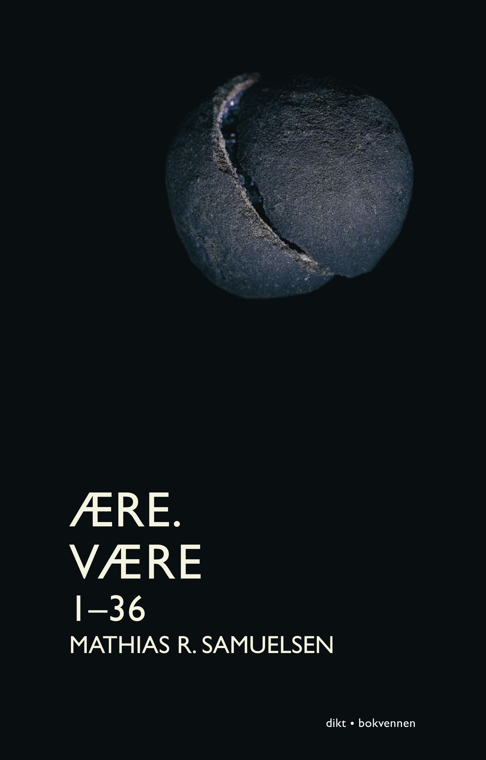 """""""Ære. Være 1-36 - dikt"""" av Mathias R. Samuelsen"""