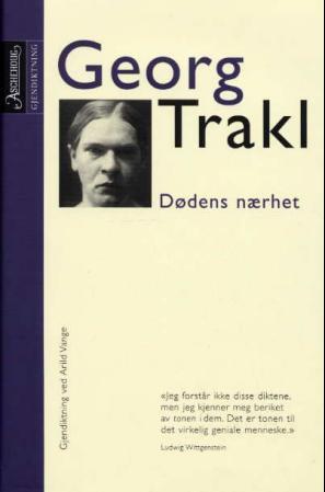 """""""Dødens nærhet"""" av Georg Trakl"""