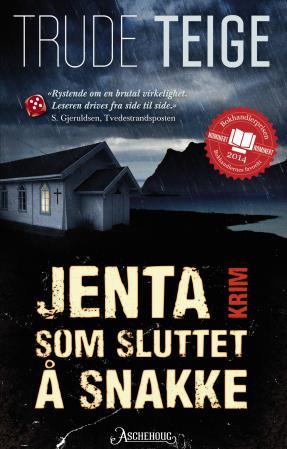 """""""Jenta som sluttet å snakke - krim"""" av Trude Teige"""