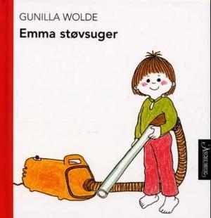 """""""Emma støvsuger"""" av Gunilla Wolde"""