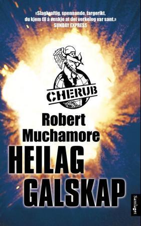 """""""Heilag galskap"""" av Robert Muchamore"""