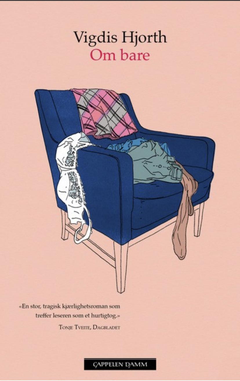"""""""Om bare - roman"""" av Vigdis Hjorth"""