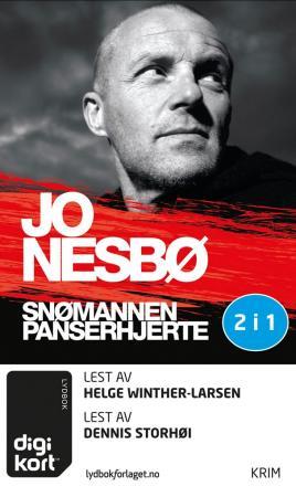 """""""Snømannen ; Panserhjerte"""" av Jo Nesbø"""