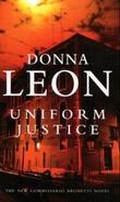 """""""Uniform justice"""" av Donna Leon"""