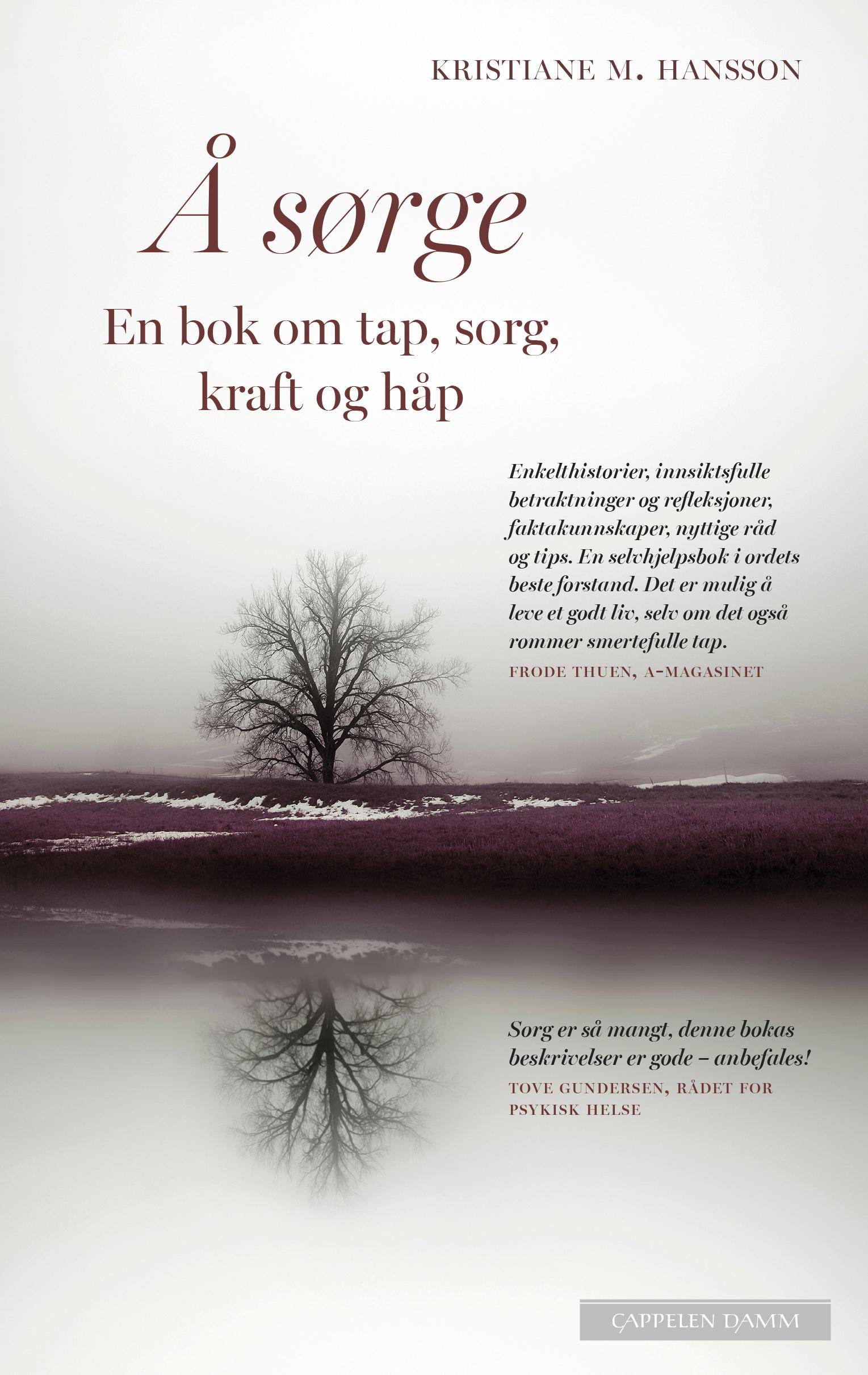 """""""Å sørge - en bok om tap, sorg, kraft og håp"""" av Kristiane M. Hansson"""