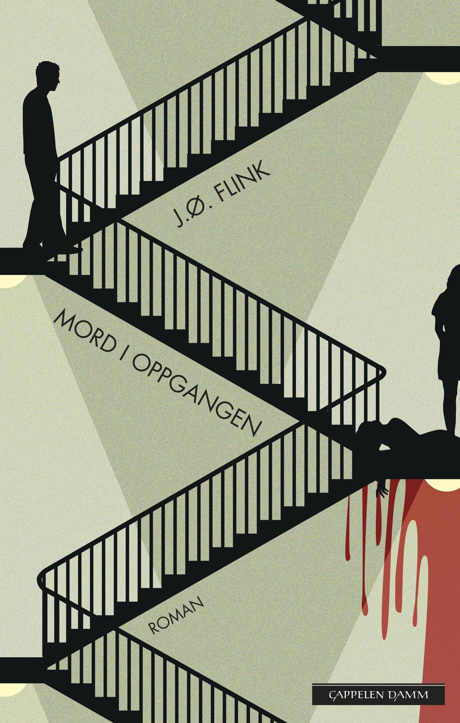 """""""Mord i oppgangen - roman"""" av Jon Øystein Flink"""
