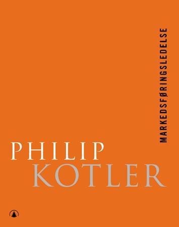 """""""Markedsføringsledelse"""" av Philip Kotler"""